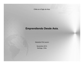 Sr. Sebastián Poli. Imex International Trading - Chile como ...