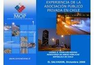 experiencia de la asociación público privada en chile - Chile como ...