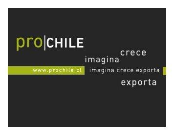 Diploma en Comercio Internacional. - Chile como exportador de ...