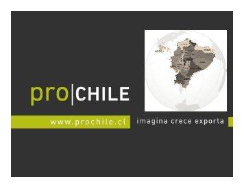 Ecuador. - Chile como exportador de servicios