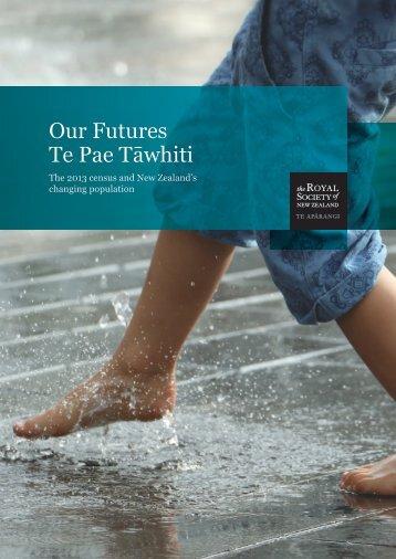 Our Futures Te Pae Tāwhiti