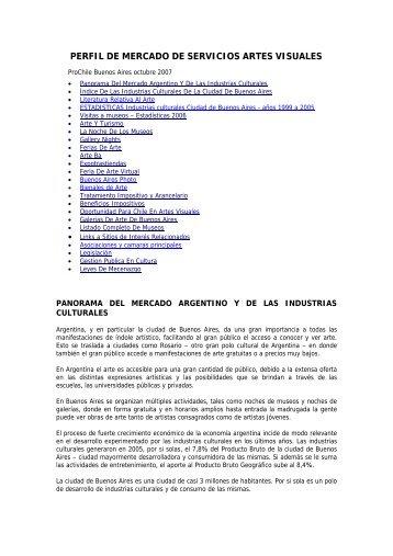 perfil de mercado de servicios audiovisuales en argentina