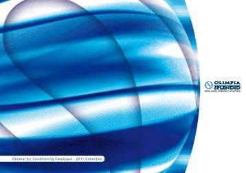General Air Conditioning Catalogue - 2011 ... - Olimpia Splendid