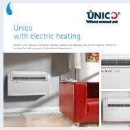 Unico with electric heating. - Olimpia Splendid
