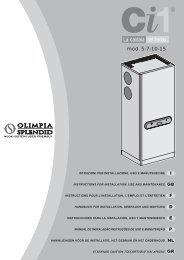 Schema Elettrico Olimpia Splendid : Schema elettrico