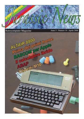Numero 16 Aprile 2008 - Retrocomputing.net