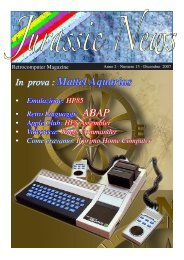 Numero 13 Dicembre 2007 - Retrocomputing.net