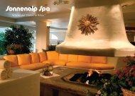 Spa Services Menu (pdf) - Sonnenalp