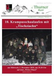 Ausgabe November 2010 - Gemeinde Thurn