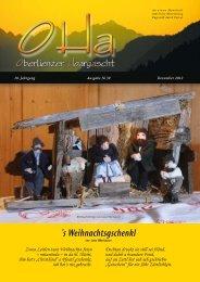 OHa Nr. 39 - Dezember 2012 - Gemeinde Thurn