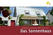 ..unabhängig und umweltbewusst: Wohnen mit der Sonne