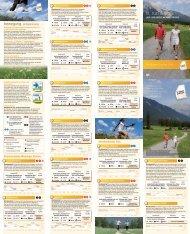 und Nordic Walkingstrecken - Sonnenplateau Mieming & Tirol Mitte