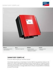 Sunny Boy 3300TL HC - Enrisol