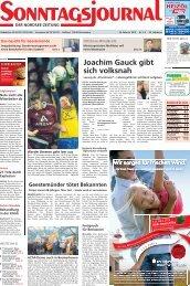 SJ-Ausgabe vom: 26. 02. 2012 - Sonntagsjournal