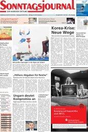 SJ-Ausgabe vom: 14. 04. 2013 [24.76 MB] - Sonntagsjournal