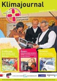 Download Klimajournal 2013 - Sonntagsjournal