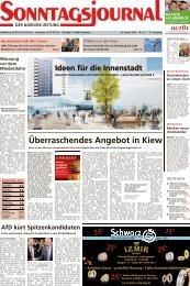 SJ-Ausgabe vom: 26. 01. 2014 - Sonntagsjournal