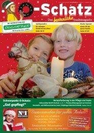 Stadtmagazin O-Schatz vom 01. 12. 2013 - beim ...