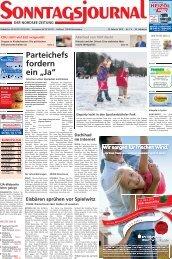 SJ-Ausgabe vom: 12. 02. 2012 - Sonntagsjournal