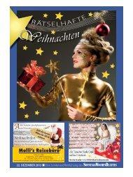 Rätselzeitung vom 22. 12. 2013 - beim SonntagsWochenBlatt