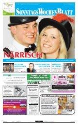 Ausgabe vom 10. 02. 2013 - beim SonntagsWochenBlatt