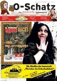 Stadtmagazin Oschatz - beim SonntagsWochenBlatt