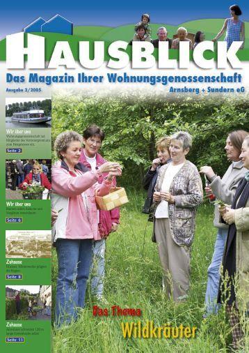 Zuhause - Arnsberger Wohnungsbaugenossenschaft eG