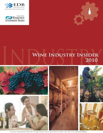 Wine Industry Insider Report 2010 - Sonoma County