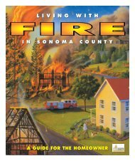 living with fire - Sonoma County