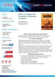 Milion w zasięgu ręki. Poradnik zarządzania finansami - Structum