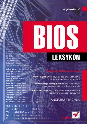 BIOS. Leksykon. Wydanie IV - Czytelnia online - Helion