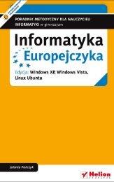 Informatyka Europejczyka. Poradnik metodyczny dla ... - Helion