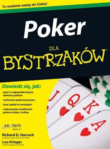 Poker dla bystrzaków - Helion