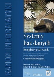 Systemy baz danych. Kompletny podręcznik ... - Czytelnia - Helion