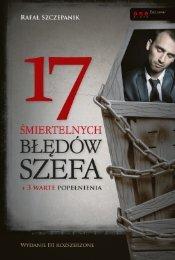 17 śmiertelnych błędów szefa. Wydanie III - Helion