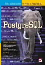 PostgreSQL. Wydanie II