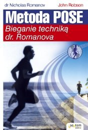 Metoda Pose. Bieganie techniką dr. Romanova - Helion