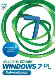 Windows 7 PL. Optymalizacja - Helion