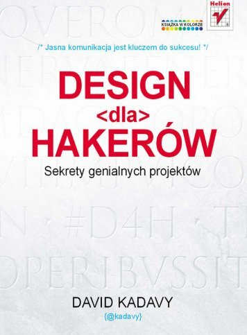 Design dla hakerów. Sekrety genialnych projektów