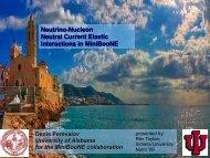 Neutrino-Nucleon NC Elastic Interactions at MiniBooNE