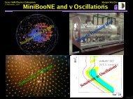 E - BooNE - Fermilab
