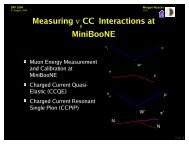Measurement of Charged Current Single Pion Neutrino ... - BooNE