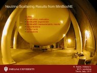 Neutrino Scattering Results from MiniBooNE