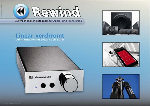 Linear verchromt - Mac Rewind