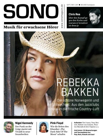 rebekka bakken - Sono-Magazin
