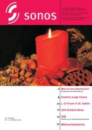Dezember 06 - sonos - Schweizerischer Verband für das ...