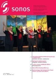 November 12 - sonos - Schweizerischer Verband für das ...