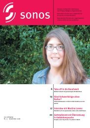 September 08 - sonos - Schweizerischer Verband für das ...