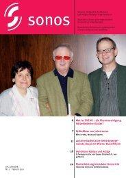 Februar 11 - sonos - Schweizerischer Verband für das ...