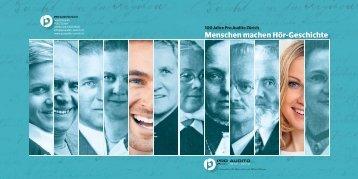 Menschen machen HörGeschichte - sonos - Schweizerischer ...